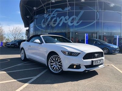 used Ford Mustang 2.3 Ecoboost 2Dr Auto convertible 2016