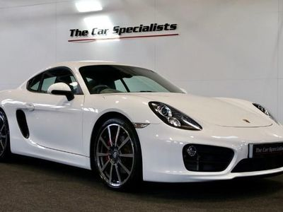 """used Porsche Cayman 24V S PDK 20"""" ALLOYS FULL LEATHER E/H SEATS WITH DRIVERS MEMORY F/R PDC SAT NAV BLUETOOTH"""