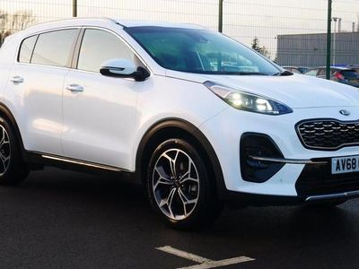 used Kia Sportage 1.6T GDi ISG GT-Line 5dr Leather Seats