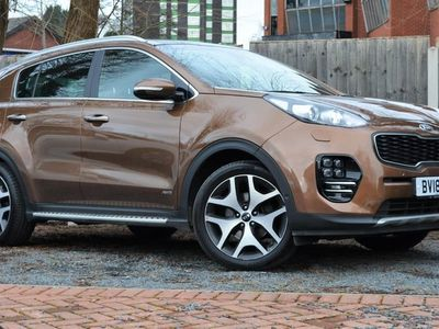 used Kia Sportage 1.6T Gdi Gt-Line S 5Dr Dct Auto [Awd]