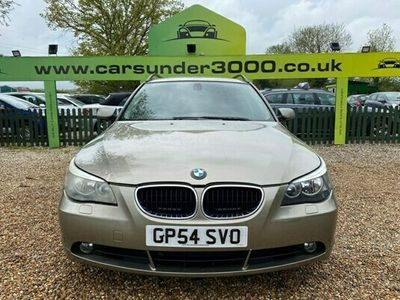 used BMW 525 5 SERIES 2.5 D SE TOURING 5d 175 BHP