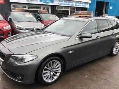 used BMW 518 5-Series Touring d (190bhp) Luxury 5d Step Auto