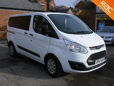 used Ford Custom Tourneo2.0 TDCi 130ps Low Roof 9 Seater Zetec, 2017 (67)