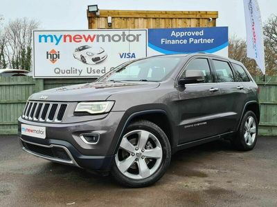used Jeep Grand Cherokee 3.0 V6 CRD Limited Auto 4WD 5dr