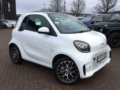 used Smart ForTwo Electric Drive COUPE 60kW EQ Exclusive 17kWh 2dr Auto [22kWCh]
