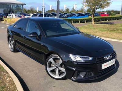 used Audi A4 35 Tfsi Black Edition 4Dr
