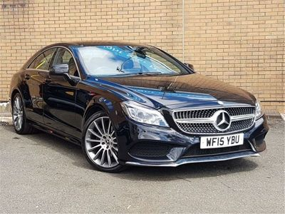used Mercedes CLS220 CLSBluetec Amg Line 4Dr 7G-Tronic