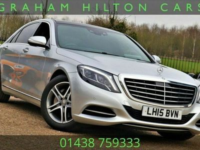 used Mercedes S400 S-Class 3.5HYBRID L SE LINE 4d 306 BHP HEATED MEMORY LEATHER, WALNUT DASH