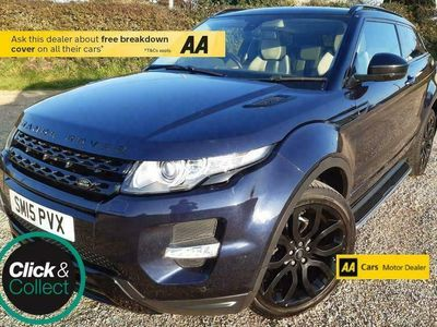 used Land Rover Range Rover evoque 2.2 SD4 Dynamic 4X4 3dr