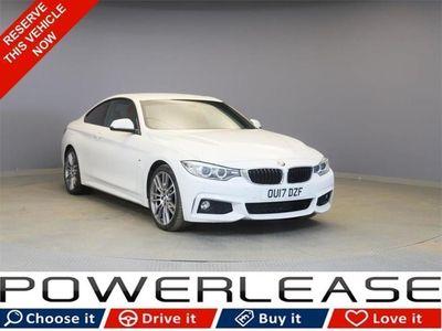 used BMW 420 4 SERIES 2.0 D M SPORT 2d 188 BHP