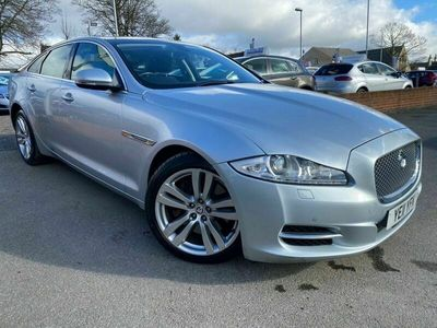 used Jaguar XJ 3.0 D V6 LUXURY SWB 4d 275 BHP CLICK AND COLLECT-CALL 07989418093