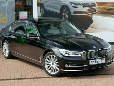 used BMW 740L 7 Series 3.0 d Auto xDrive (s/s) 4dr
