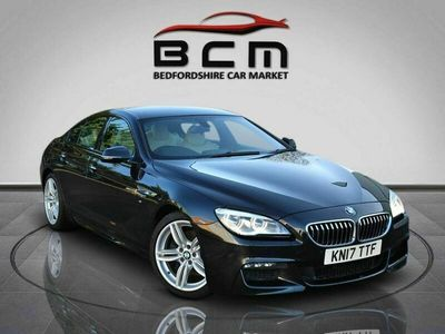 used BMW 640 6 SERIES 3.0 D M SPORT GRAN COUPE 4d 309 BHP