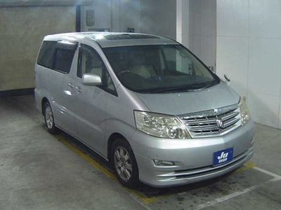 used Toyota Alphard 3.0 V6 MZ G EDITION Leather Seats Curtains DVD Sunroof Cameras 5-Door