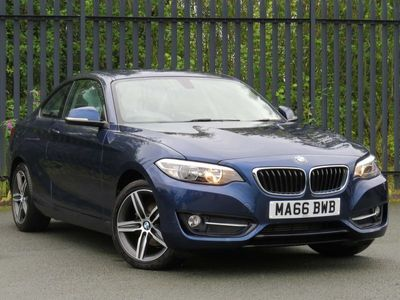 used BMW 218 d Sport Coupe