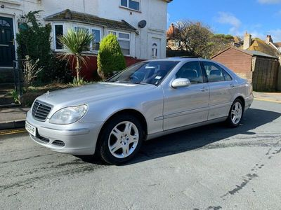 used Mercedes S320 S Class 3.2CDI SE L 4dr