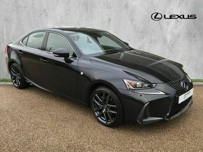 used Lexus IS300 2.5 F Sport Limited Edition E-CVT (s/s) 4dr