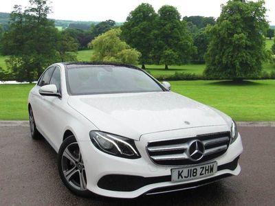 used Mercedes E220 E ClassSE Premium 4dr 9G-Tronic Saloon 2018