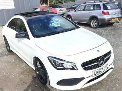 used Mercedes CLA200 CLAAMG Line 4dr