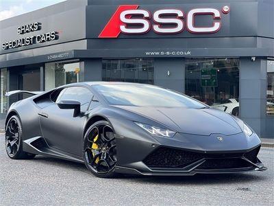 used Lamborghini Huracán Huracan 5.2 V10LDF 4WD (s/s) 2dr