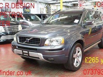 used Volvo XC90 3.2 R Design Auto petrol low mileage