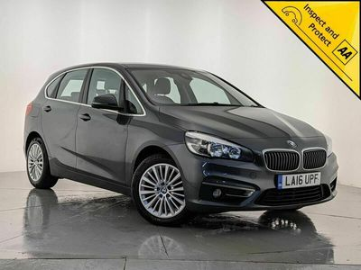 used BMW 216 Active Tourer 2 Series 1.5 d Luxury (s/s) 5dr SAT NAV 1 OWNER SVC HISTORY MPV 2016