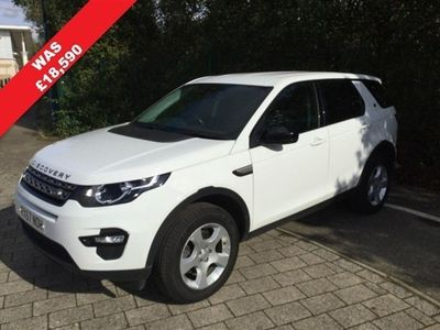 used Land Rover Discovery Sport 2.0 TD4 Pure Edition 4WD (s/s) 5dr