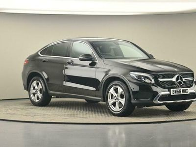 used Mercedes 220 GLC COUPE GLC4Matic Sport 5dr 9G-Tronic