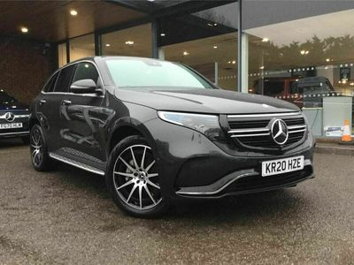 used Mercedes EQC400 400 80kWh AMG Line Auto 4MATIC 5dr