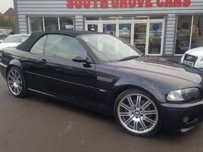 used BMW M3 PETROL AUTOMATIC CONVERTIBLE 2 DOORS
