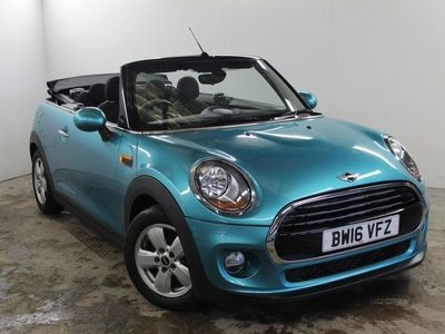 used Mini Cooper D Cabriolet 2dr Convertible 1.5 Cooper D 2dr Convertible Convertible 2016