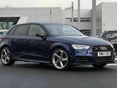 used Audi S3 Sportback Black Edition 2
