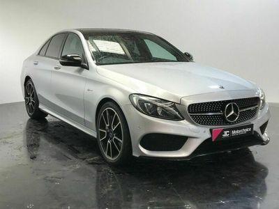 used Mercedes C43 AMG C Class 3.0V6 AMG (Premium Plus) G-Tronic+ 4MATIC (s/s) 4dr