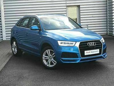 used Audi Q3 S line Edition 1.4 TFSI cylinder on demand 150 PS 6-speed