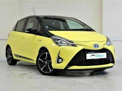 used Toyota Yaris Hybrid VVT-h Yellow Bi-Tone Limited Edition E-CVT Automatic