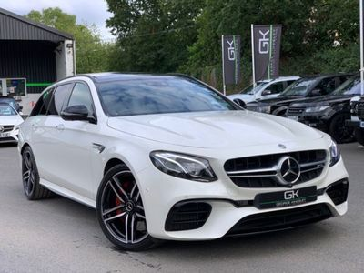 used Mercedes S63 AMG E Class AMG E4MATIC PREMIUM - DISTRONIC - DRIVING ASSISTANCE PACK - HUGE SPEC 4.0 5dr