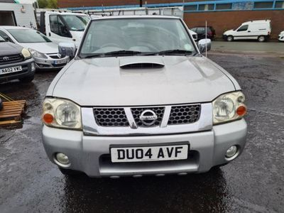 used Nissan Navara Outlaw Double Cab Pick Up 4WD Di, 2004, not known, 159641 miles.