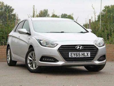 used Hyundai i40 1.7 CRDi SE Nav Blue Drive (115ps) Saloon 4dr