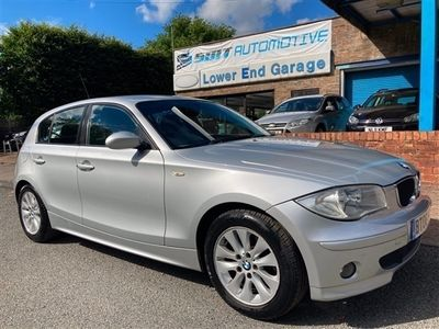 used BMW 116 1 Series i SE 5dr [6] Silver