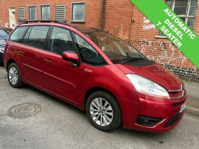used Citroën Grand C4 Picasso  1.6 VTR PLUS HDI EGS 5d 110 BHP 5-Door AUTOMATIC DIESEL 7 SEATER