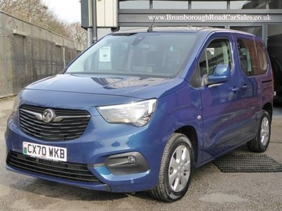 used Vauxhall Combo Life 1.5 Turbo D BlueInjection Energy Auto (s/s) 5dr