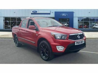 used Ssangyong Musso Diesel Pick up EX 4dr Auto 4WD 2.2