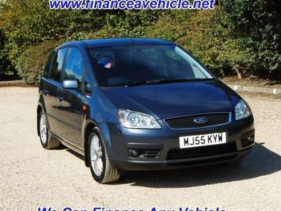 used Ford C-MAX 1.6ZETEC 5d 100 BHP Great Service History