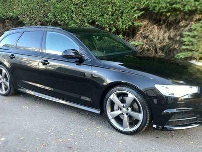 used Audi A6 Avant 3.0 TDI V6 Black Edition Avant S Tronic quattro (s/s) 5dr