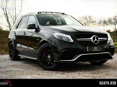 used Mercedes GLE63 AMG Gle Class 5.5V8 AMG S (Premium) SpdS+7GT 4MATIC (s/s) 5dr