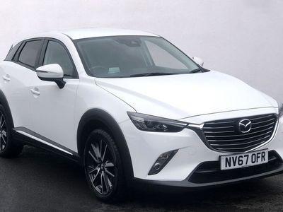 used Mazda CX-3 2.0 SKYACTIV-G Sport Nav SUV 5dr Petrol (s/s) (121 ps)