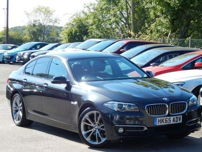 used BMW 520 5 SERIES 2.0 d M Sport Saloon 4dr Diesel Automatic 119 gkm, 190 bhp