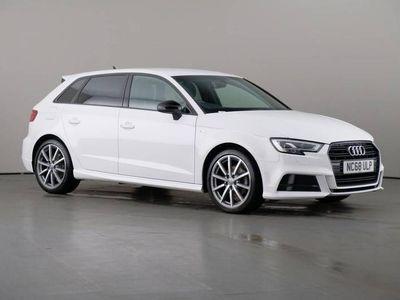 used Audi A3 Sportback 1.0 TFSi S-Line Black Edition Nav 5dr