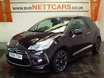 used Citroën DS3 E-HDI DSTYLE PLUS