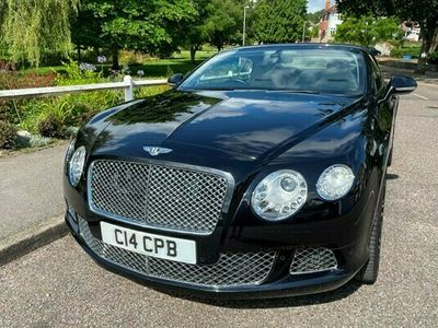 used Bentley Continental GT GTC Convertible 6.0 W12 (06/12-) 2d Auto